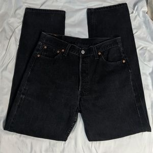 Levi's   button fly student jeans   fits like 28